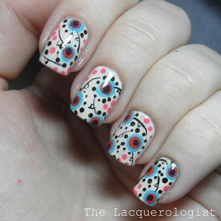 Our favorite floral nail looks more bohemian floral nail art prinsesfo Gallery