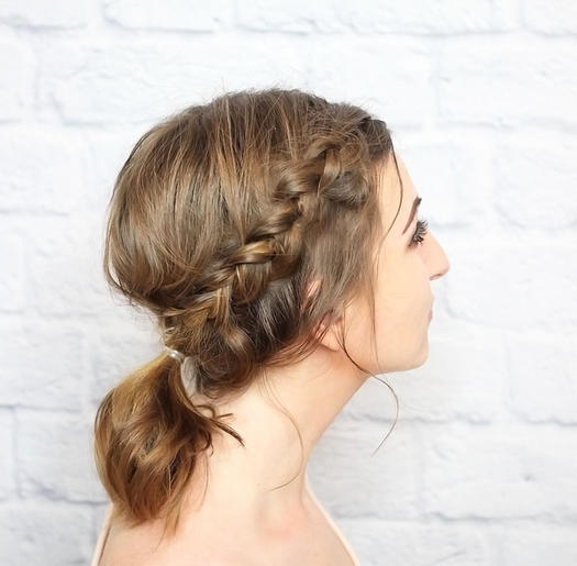 Magnificent 11 Beautiful Braids For Short Hair More Com Hairstyle Inspiration Daily Dogsangcom