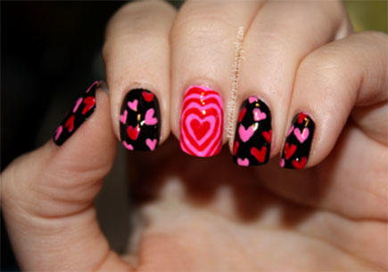 Love Spell Valentine's Day Nail Art - 17 Valentine's Day Nail Art Designs We Love More.com