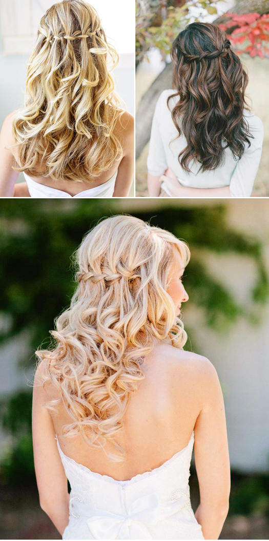 21 wedding hairstyles for long hair. Black Bedroom Furniture Sets. Home Design Ideas