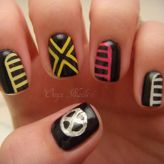 Men Nail Art: 27 Powerful Nail Designs For Any Comic Nerd