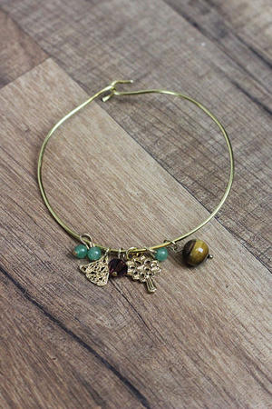 Make Your Own: Charm Bangle Bracelets
