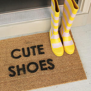 Customize Your Welcome with a DIY Doormat