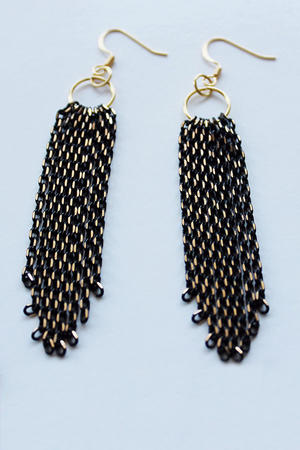 Make Your Own: Chain Cascade DIY Earrings