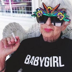 This 87-Year-Old Instagram Star Proves Age Ain't Nothing But a Number
