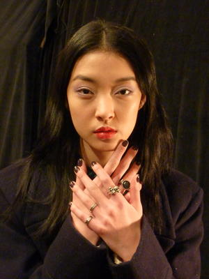 NYFW Fall 2012: Cool, Colorful Makeup at Charlotte Ronson