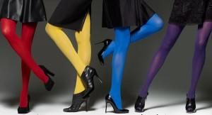 Save Your Winter From Sartorial Monotony: The Joys of Colored Tights
