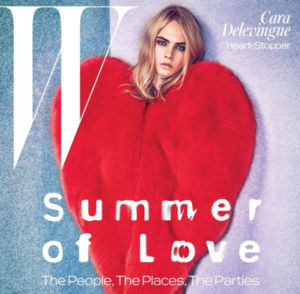Cara Delevingne Lands the Cover of W Magazine