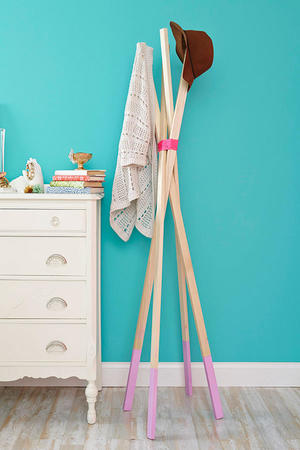DIY Coat Rack: Hang Your Hat in Style
