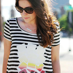 Easy DIY Graphic Tee: Make Your Own with a Photo Transfer
