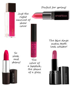 Hot Pink Lipsticks We Love