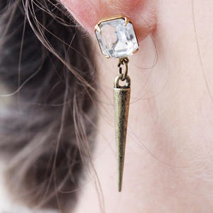 How to Make Earrings: DIY Statement Spikes