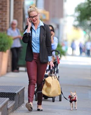 Get the Look: Katherine Heigl's Preppy Street Style