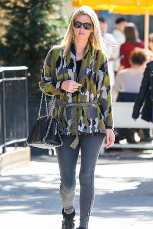 Get the Look: Nicky Hilton's Casual Camo Style