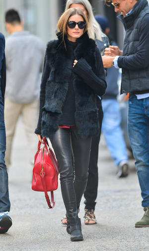Get the Look: Olivia Palermo Looks Fab in Faux Fur