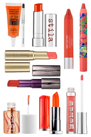 Perfect Shade for Spring Orange Lips