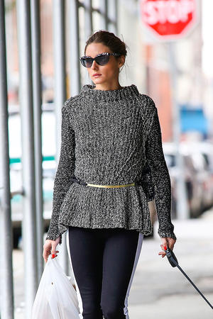 Get the Look: Olivia Palermo's Sophisticated Sweater Style