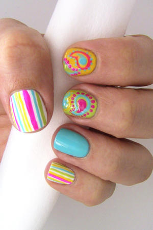 Pretty Paisley Nail Art Tutorial