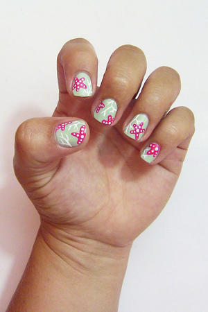 Summer Nails: Coral Reef Nail Art