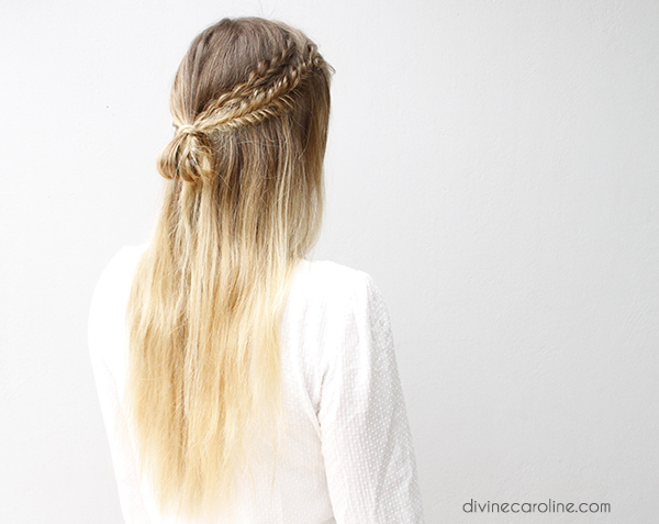 Hair Style Definition: These Half-Up Boho Braids Are The Definition Of Simple