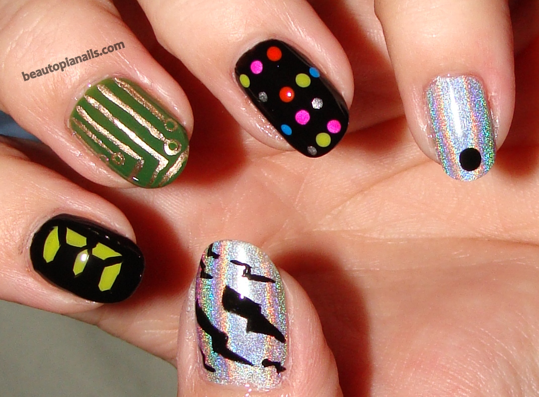 Nail art design games image collections nail art and nail design 11 hunger games nail designs to wear to the mockingjay part 2 looking for a hunger prinsesfo Images