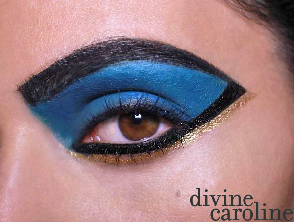 halloween makeup howto cleopatra eye morecom