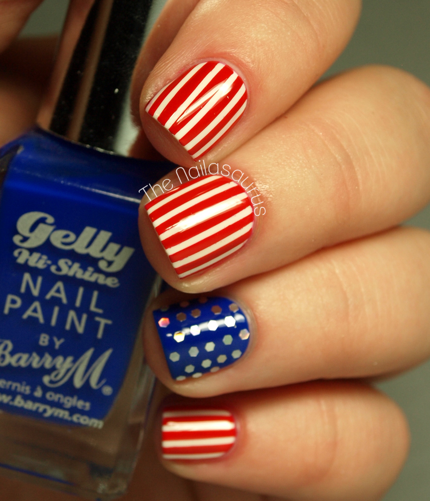 4th of july nails stars and stripes nail art more 4th of july nails stars and stripes nail art prinsesfo Image collections