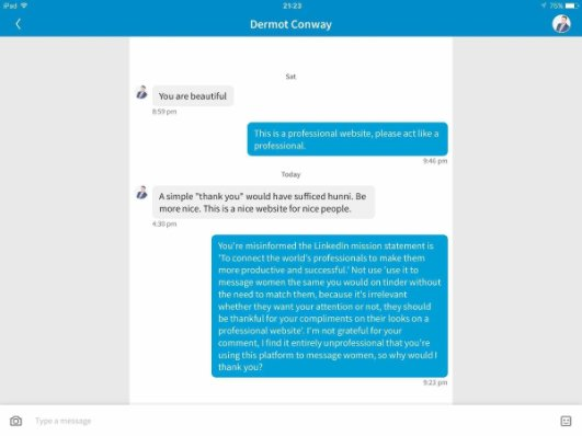 dating site through linkedin If i want to write a book about using linkedin as a dating site, how should i  linkedin is a professional network site and using it as a dating site is not only.