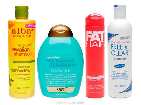 shampoo without sulfate