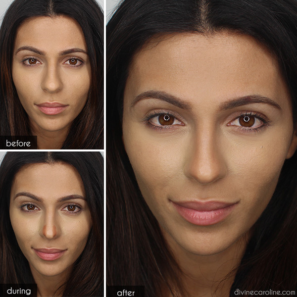 Makeup Trick: How to Fake a Nose Job | more.com
