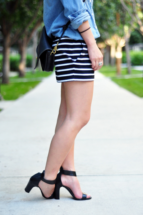 How to Style Striped Shorts | more.com