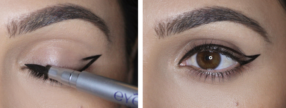 How to Do Winged Eyeliner Like a Boss Beauty Blogger   more.com