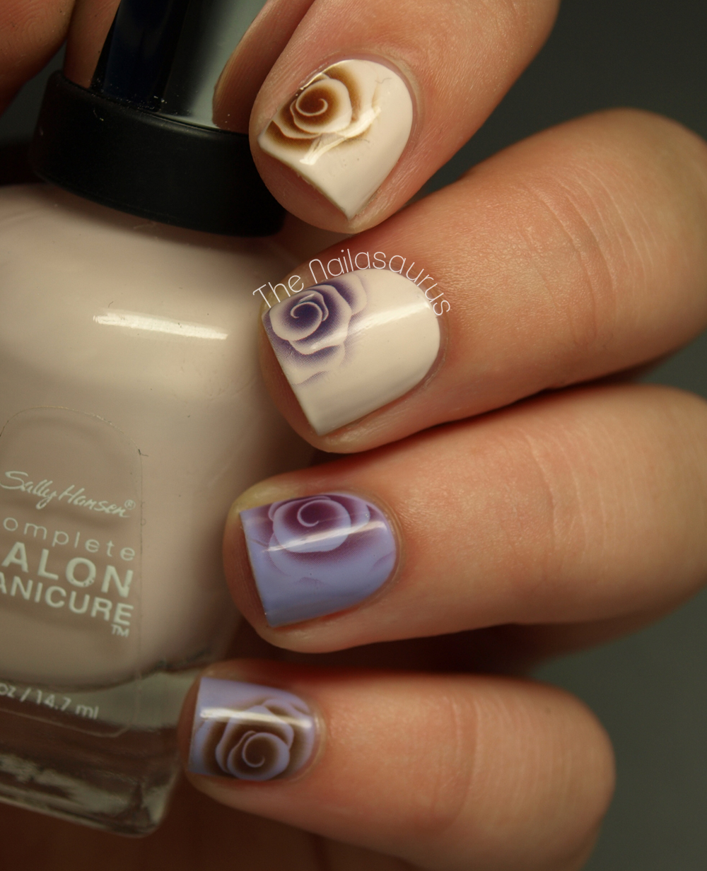 Nail Art Ideas nail art water decal : Nail Art Made Easy: Water Decals | more.com