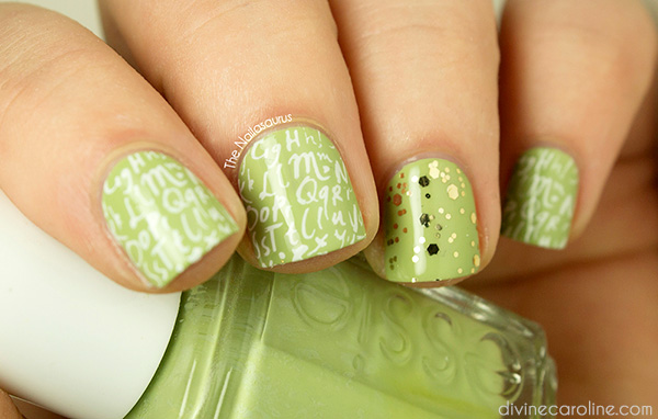 Stamping nail design a creative new nail art technique more stamping nail design a creative new nail art technique prinsesfo Image collections
