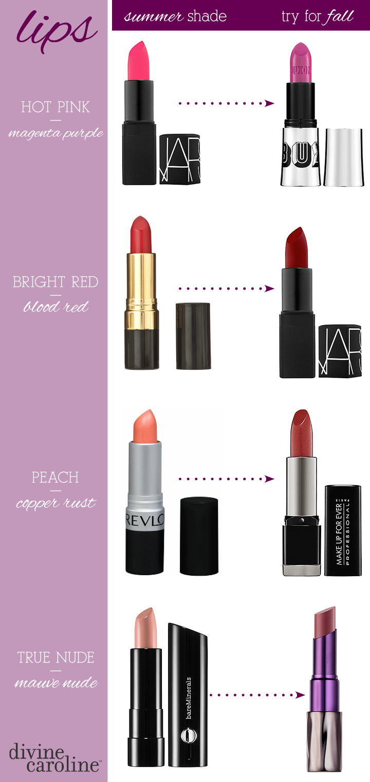 How to Transition Your Makeup From Summer to Fall | more.com