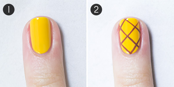 Summer Nails! Pineapple Party Nail Art - Summer Nails! Pineapple Party Nail Art More.com