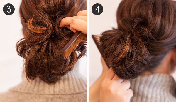 Use Bobby Pins To Secure The Sides Of Your Hair Top Base Ponytail This Step Will Hide Elastic Band Allow For Short