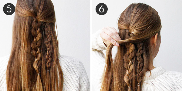 Wondrous Boho Braid How To Create An Effortlessly Chic Half Updo More Com Short Hairstyles Gunalazisus