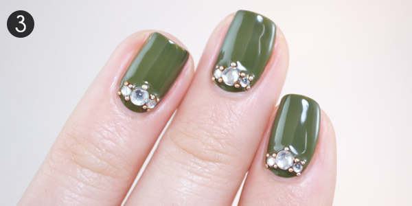 Luxe of the Irish: St. Patrick's Day Nail Art Tutorial - Luxe Of The Irish: St. Patrick's Day Nail Art Tutorial More.com