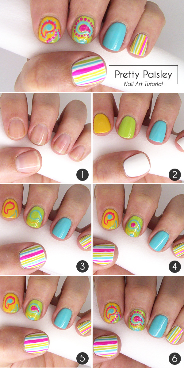 Pretty paisley nail art tutorial more pretty paisley nail art tutorial prinsesfo Gallery