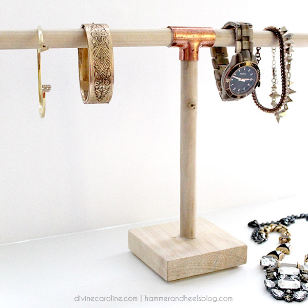 Trade Jewellery Stands : Make it diy jewelry holder for more