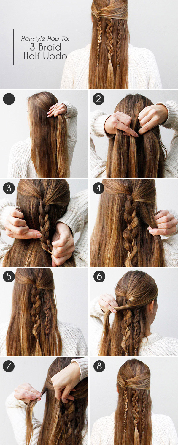boho braid: how to create an effortlessly chic half updo | more