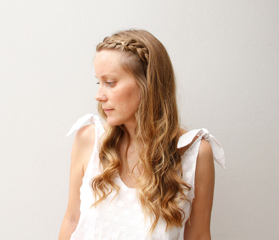 Beach Hair Dutch Braid