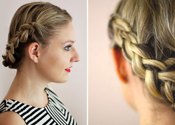Fantastic Hairstyle How To Easy Braids For Short Hair More Com Short Hairstyles Gunalazisus