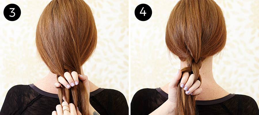 Chain Link Braid: Steps 3-4