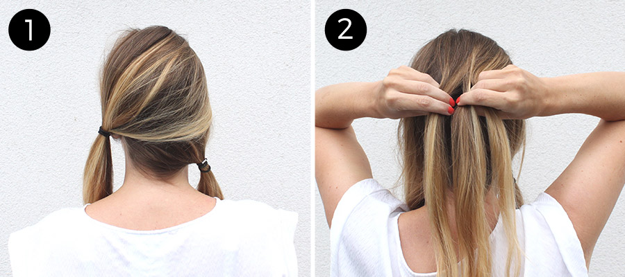 Double Diagonal Lace Braid: Steps 1-2