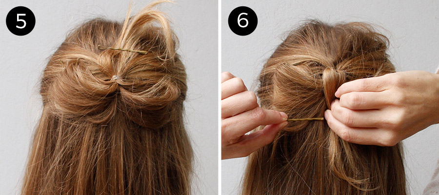 Incredible Hairstyle How To Holiday Hair Bow More Com Short Hairstyles Gunalazisus
