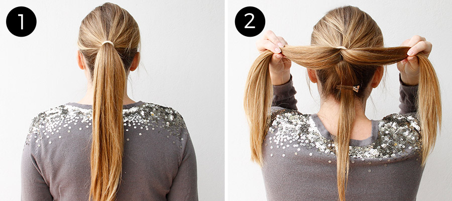 Hair Bow Updo Tutorial