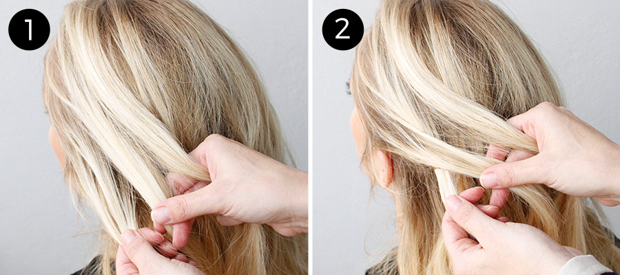 Dutch Lace Braid: Steps 1-2