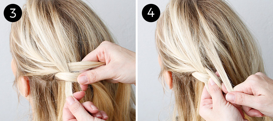 Dutch Lace Braid: Steps 3-4